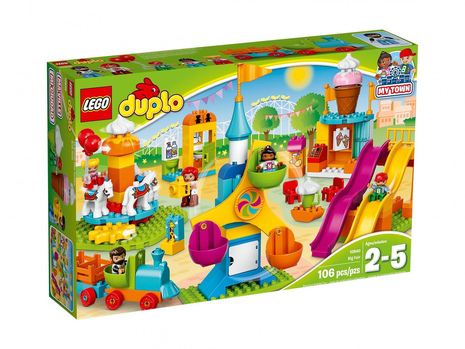 Lego 10840 Duplo Duże Wesołe Miasteczko Zklockówpl
