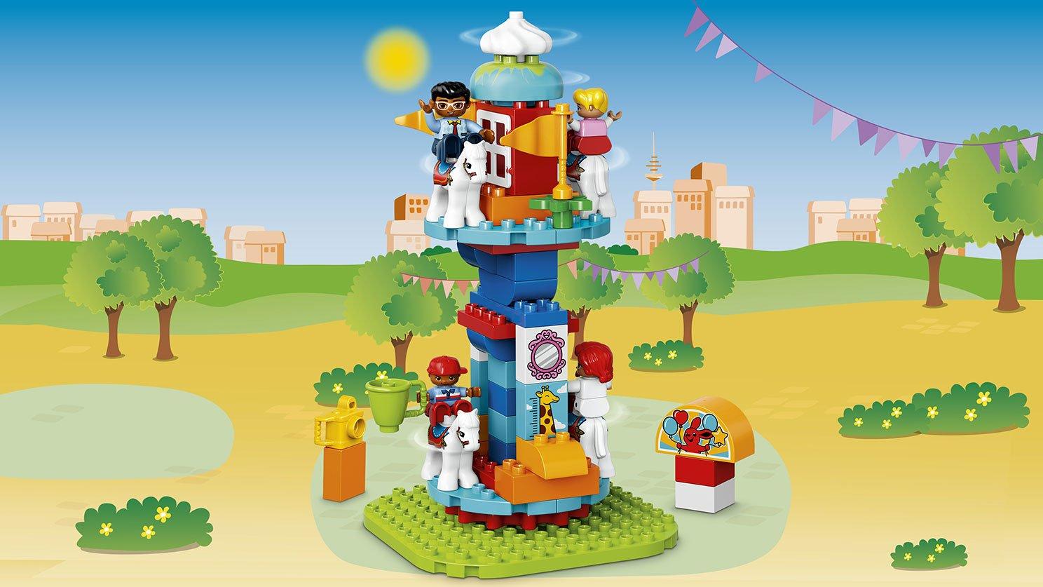 Lego 10841 Duplo Wesołe Miasteczko Zklockówpl