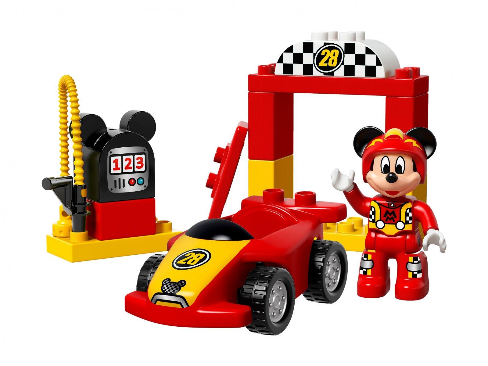 LEGO Duplo® Wyścigówka Mikiego 10843