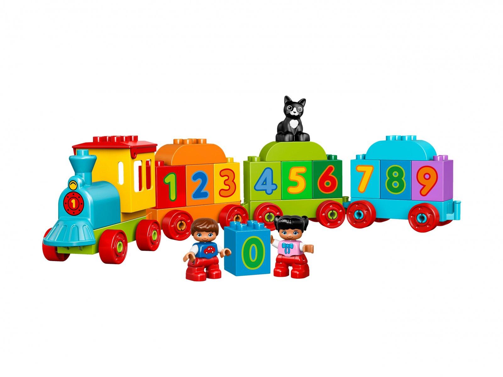 LEGO Duplo® Pociąg z cyferkami
