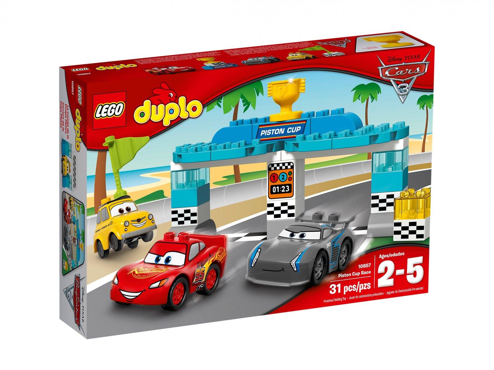 LEGO 10857 Duplo® Wyścig o Złoty Tłok