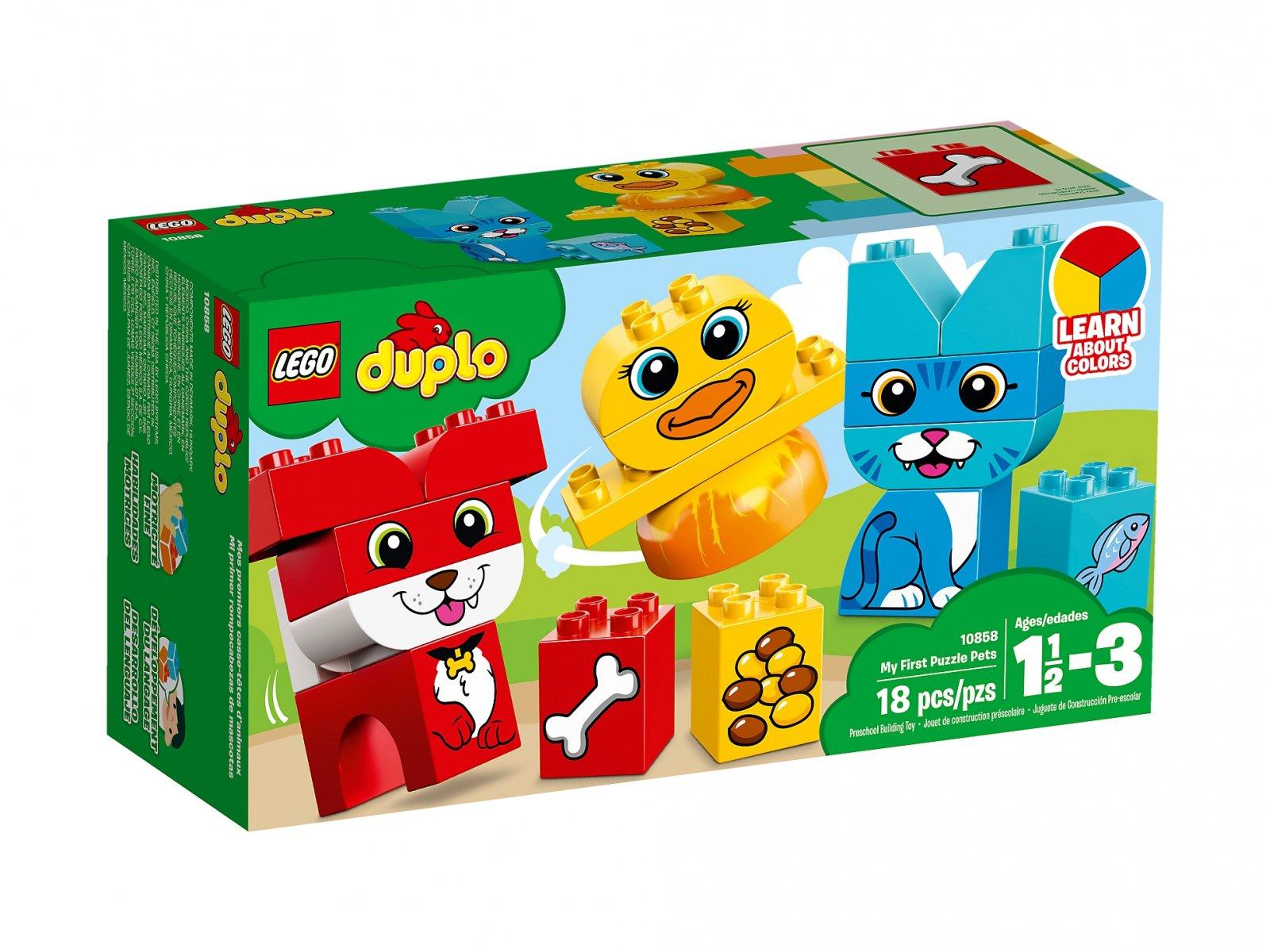 LEGO Duplo® 10858 Moje pierwsze zwierzatka