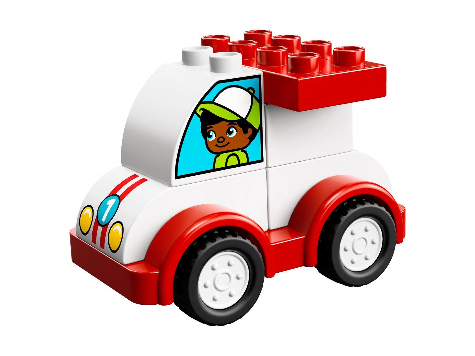 LEGO Duplo® 10860 Moja pierwsza wyścigówka