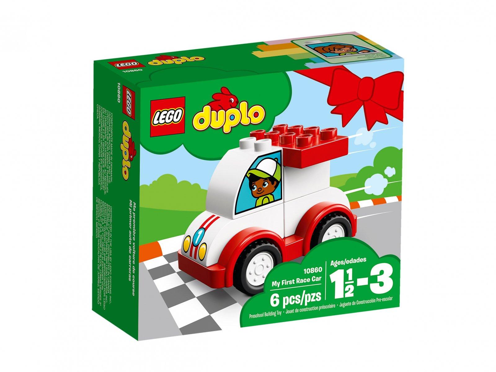 LEGO Duplo® Moja pierwsza wyścigówka 10860