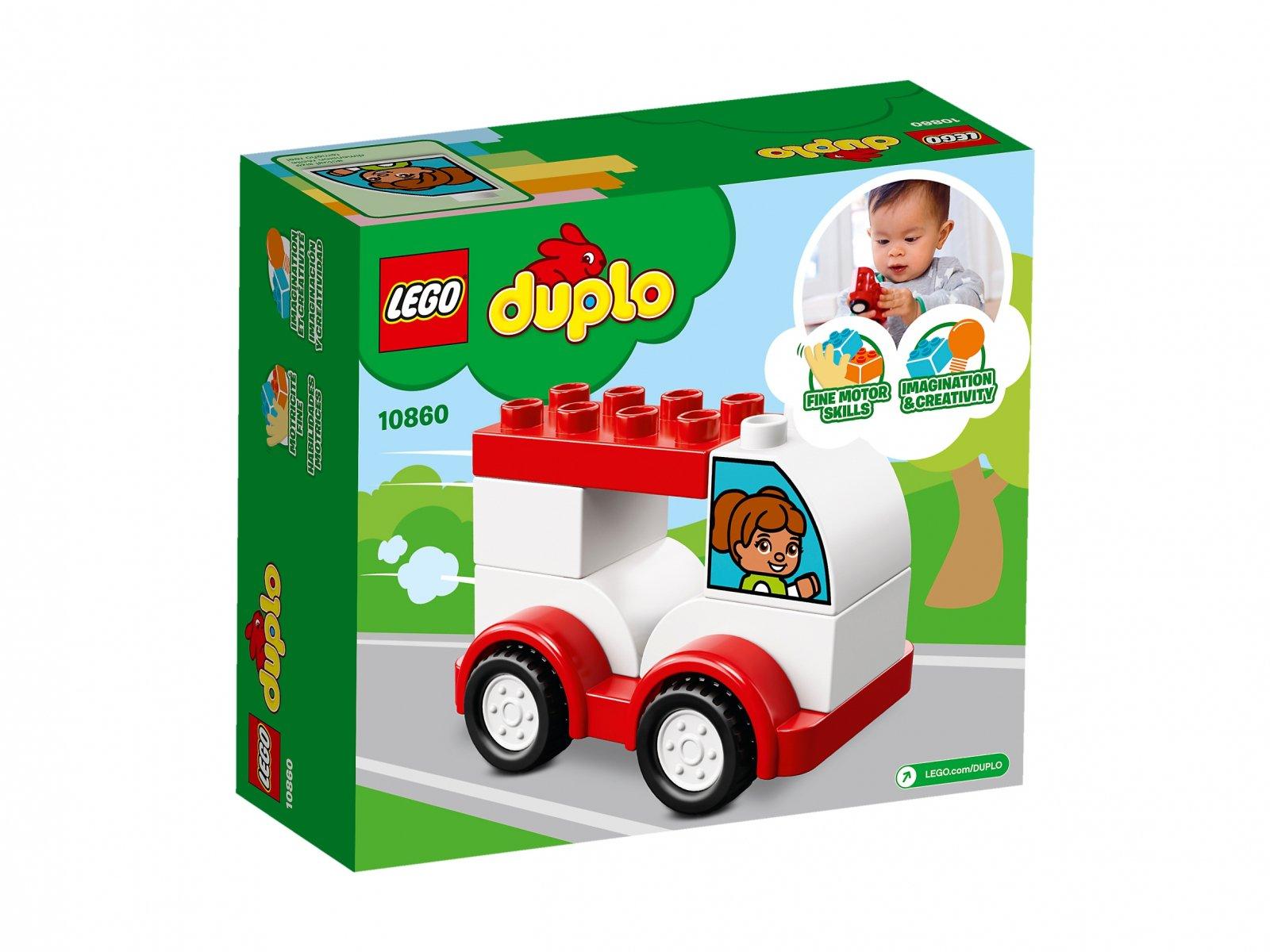 LEGO 10860 Duplo® Moja pierwsza wyścigówka