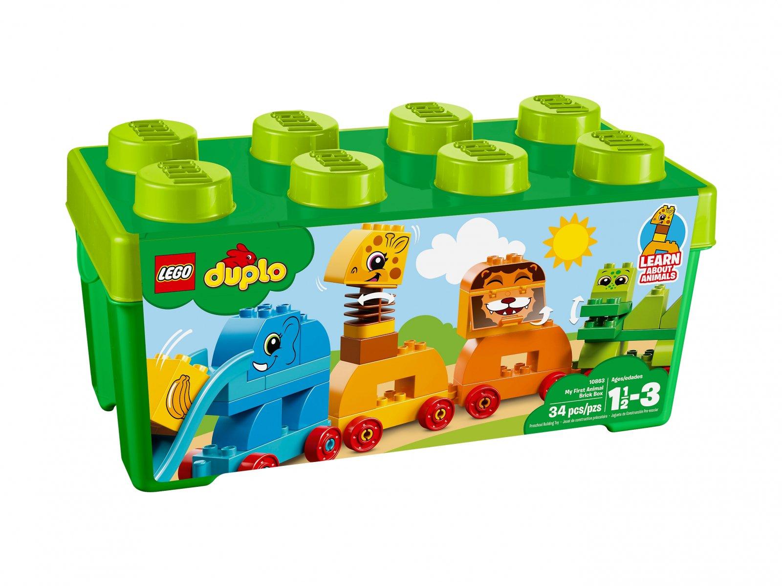 LEGO Duplo® 10863 Pociąg ze zwierzątkami