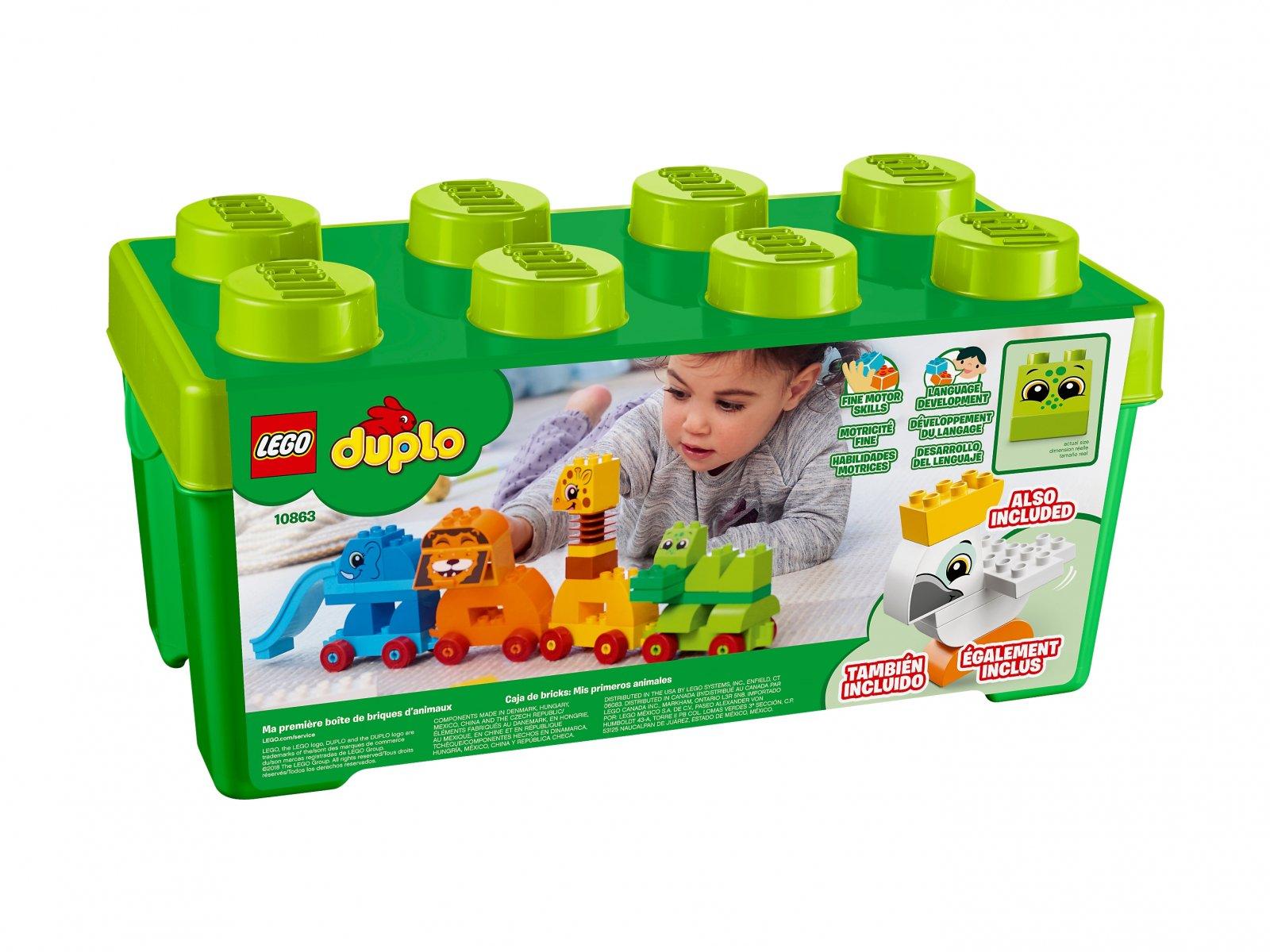 LEGO Duplo® Pociąg ze zwierzątkami 10863