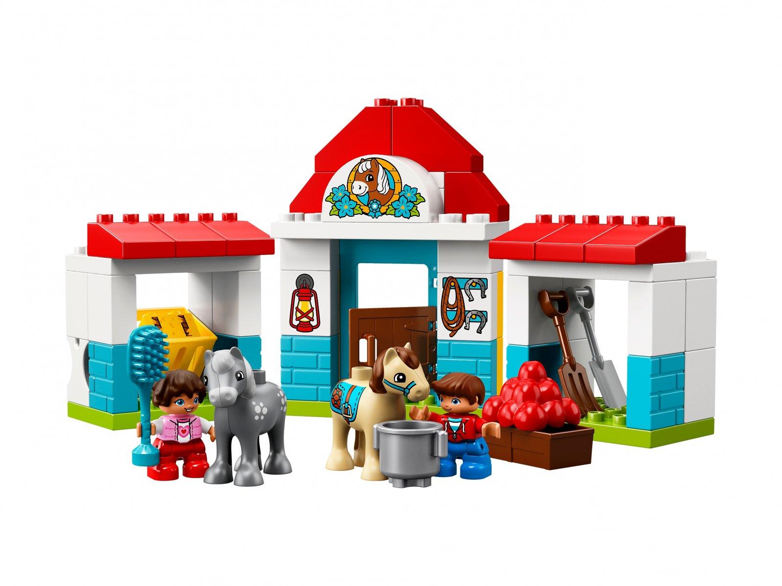 LEGO 10868 Stajnia z kucykami
