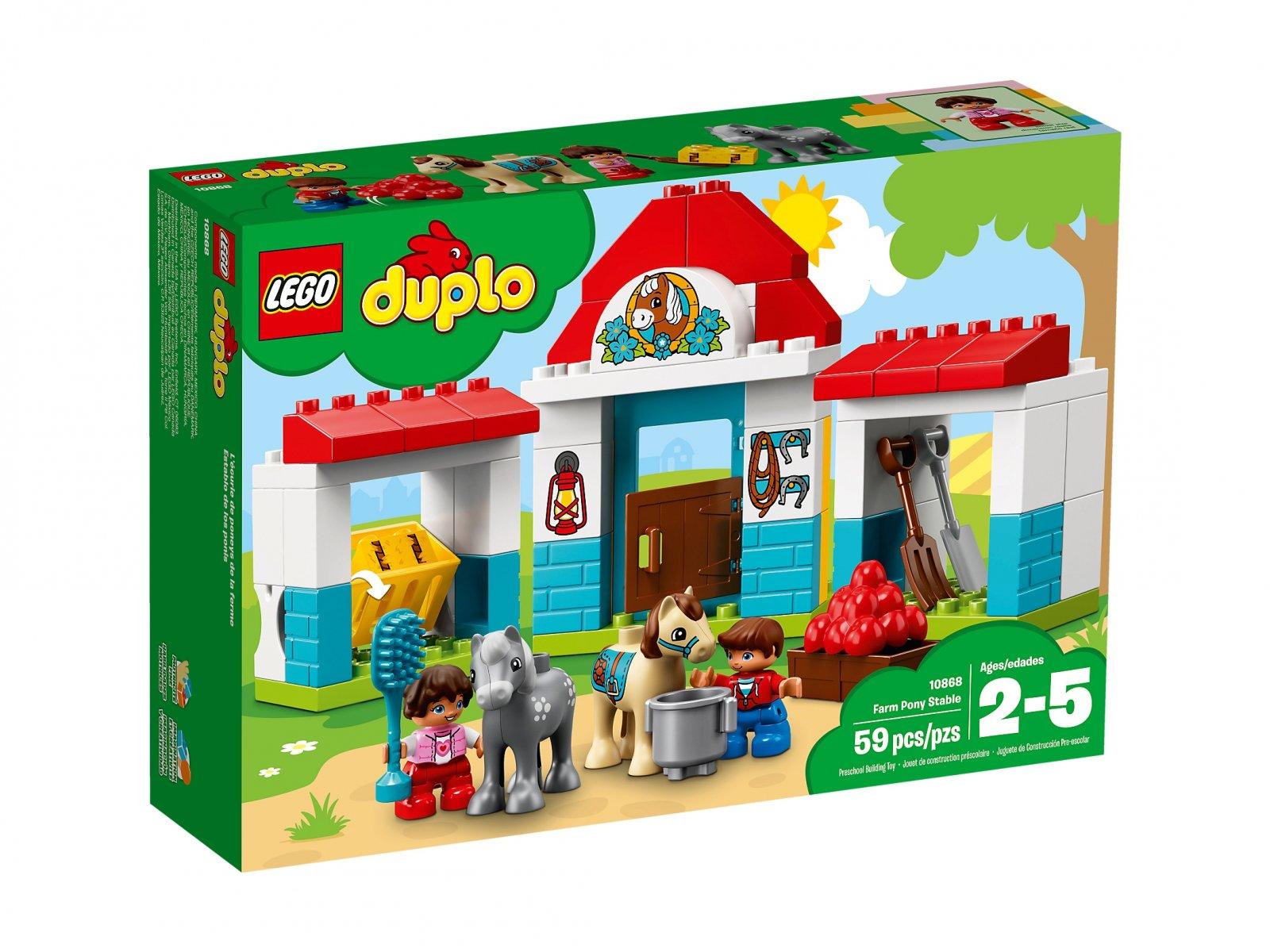 LEGO 10868 Duplo® Stajnia z kucykami