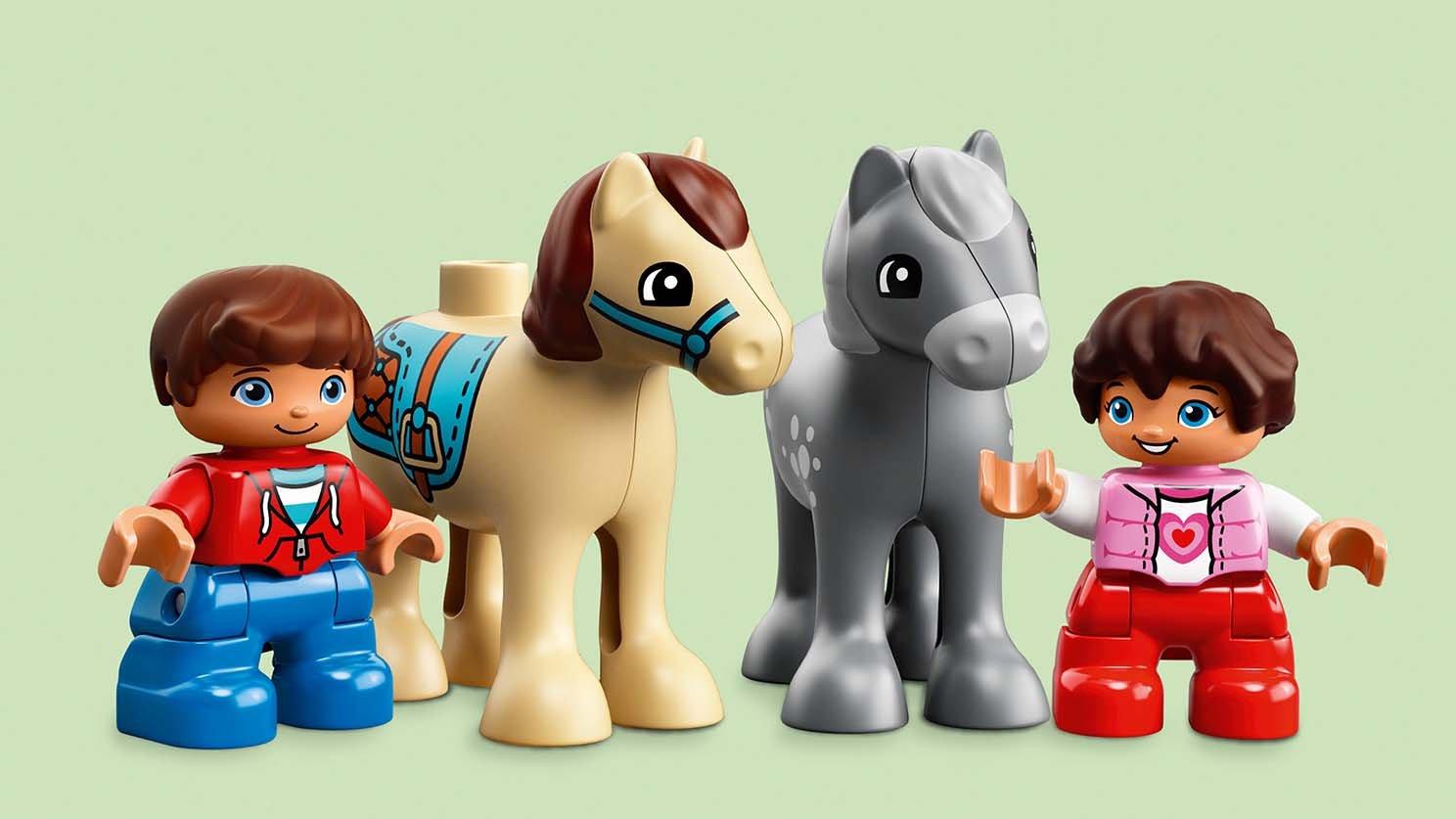 Lego 10868 Duplo Stajnia Z Kucykami Zklockówpl