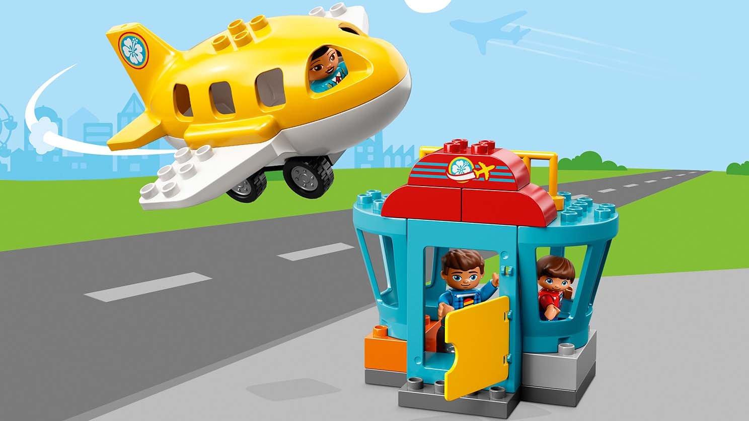 Lego 10871 Duplo Lotnisko Porównaj Ceny Zklockówpl
