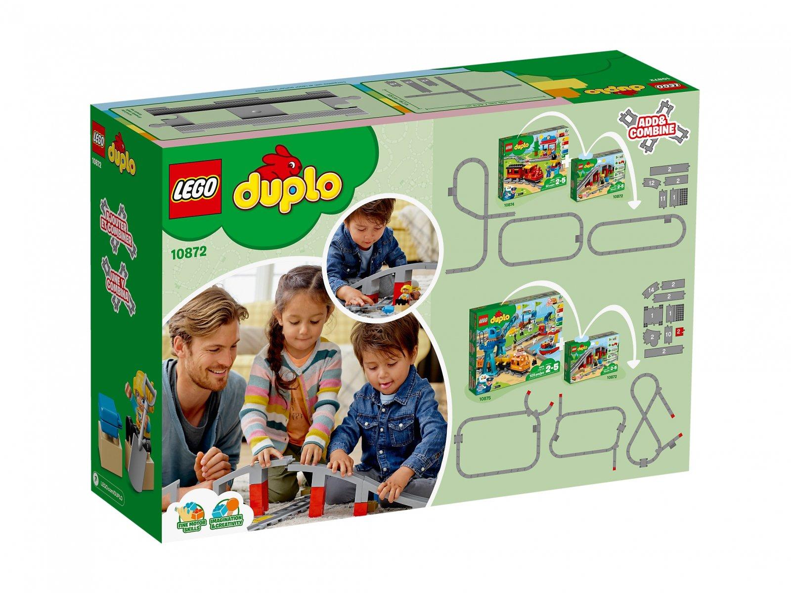 LEGO Duplo® 10872 Tory kolejowe i wiadukt