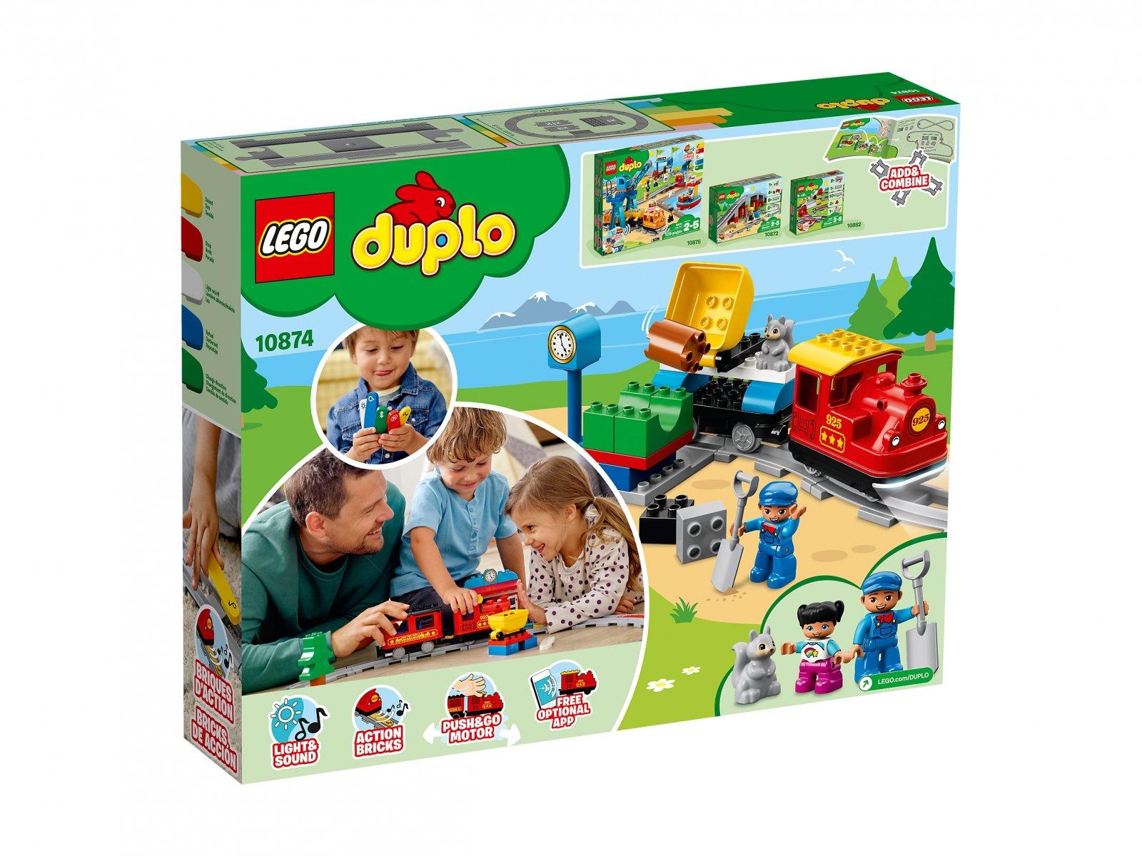 LEGO 10874 Duplo® Pociąg parowy