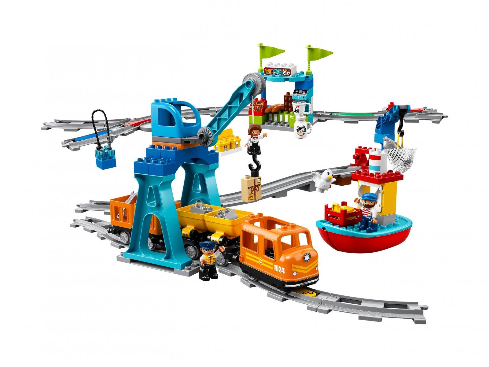 LEGO 10875 Duplo® Pociąg towarowy