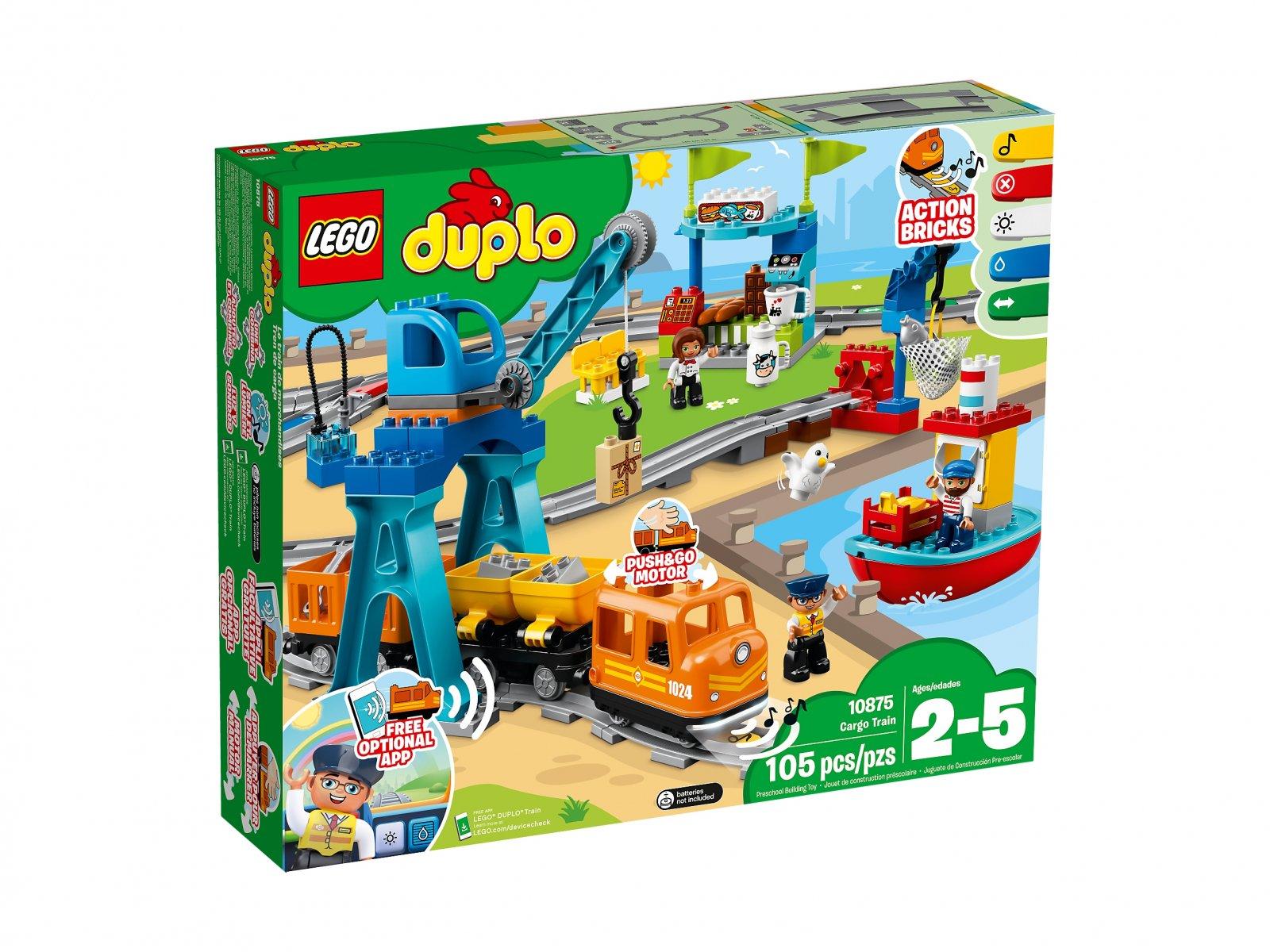 LEGO Duplo® 10875 Pociąg towarowy