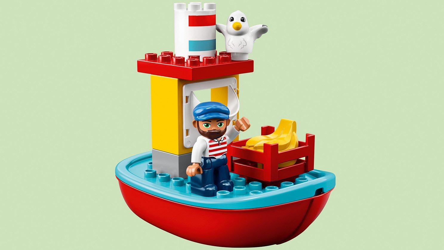 LEGO 10875 Pociąg towarowy