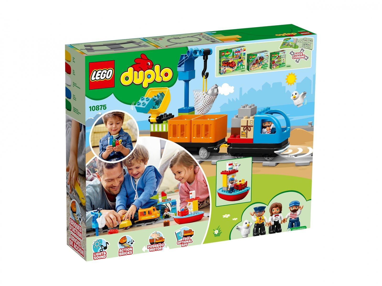 LEGO Duplo® Pociąg towarowy 10875