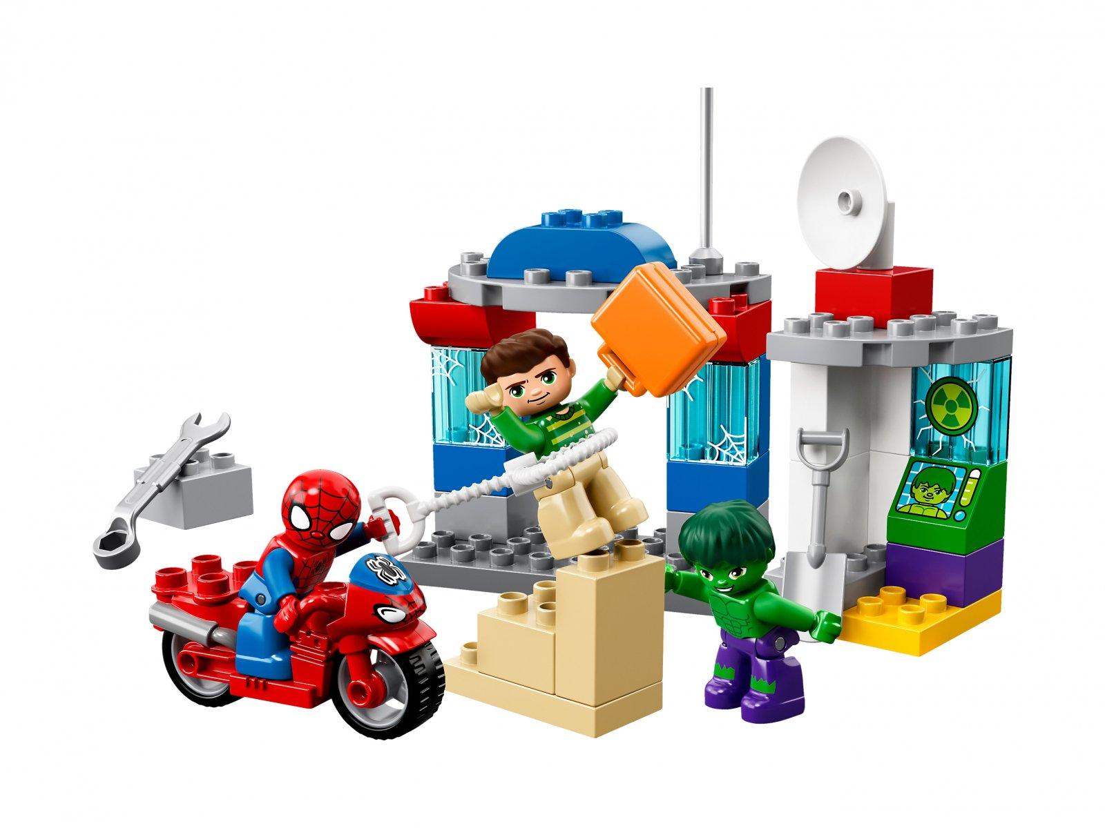 LEGO Duplo® 10876 Przygody Spider-Mana i Hulka