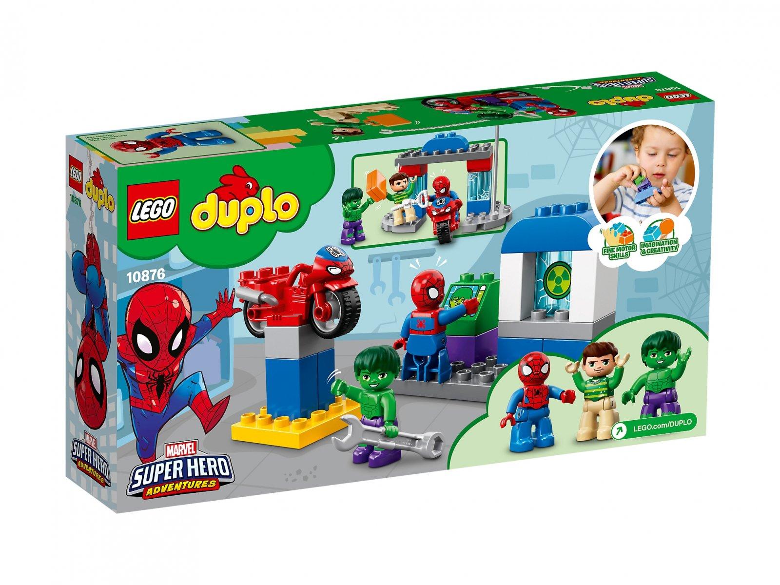 LEGO 10876 Przygody Spider-Mana i Hulka