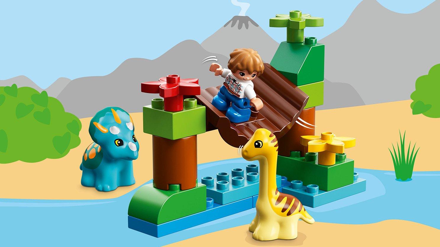 """LEGO 10879 Duplo® Minizoo """"Łagodne olbrzymy"""""""