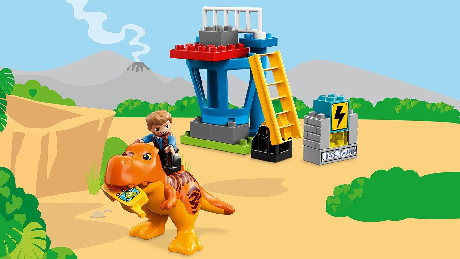 LEGO Duplo® 10880 Wieża tyranozaura