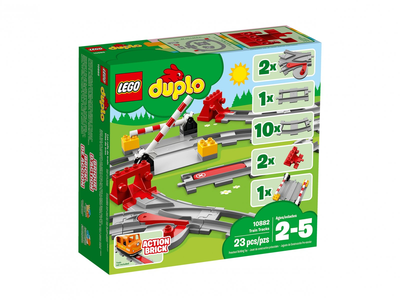 Lego 10882 Tory kolejowe