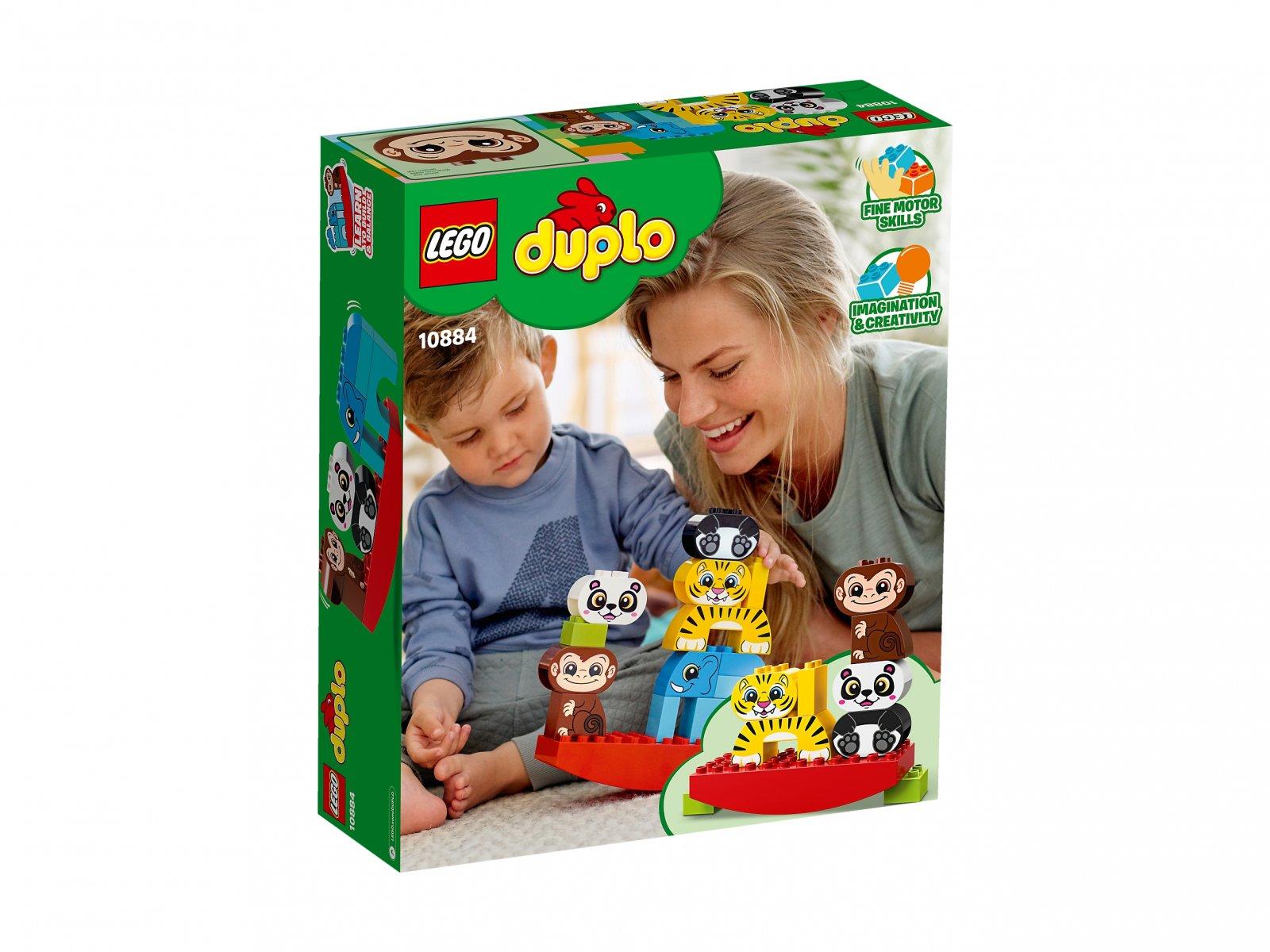 LEGO 10884 Duplo® Moje pierwsze zwierzątka na równoważni