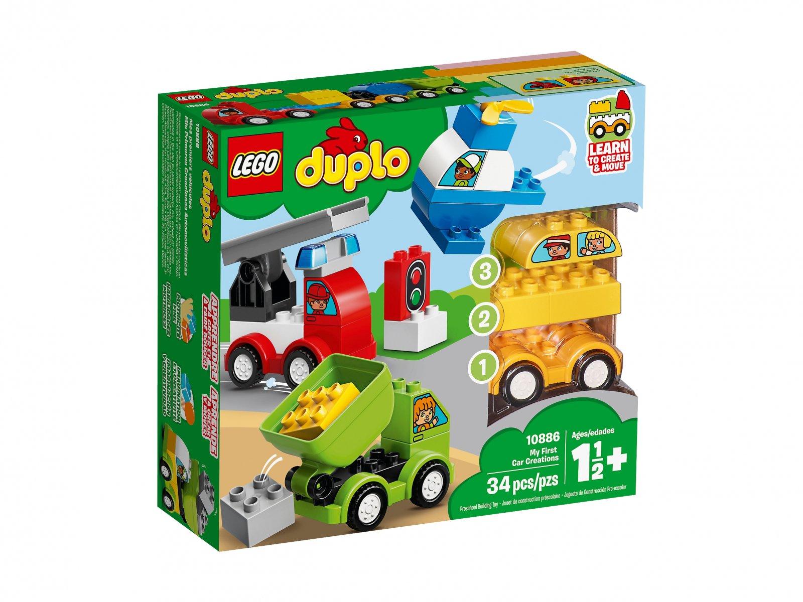 LEGO Duplo® Moje pierwsze samochodziki