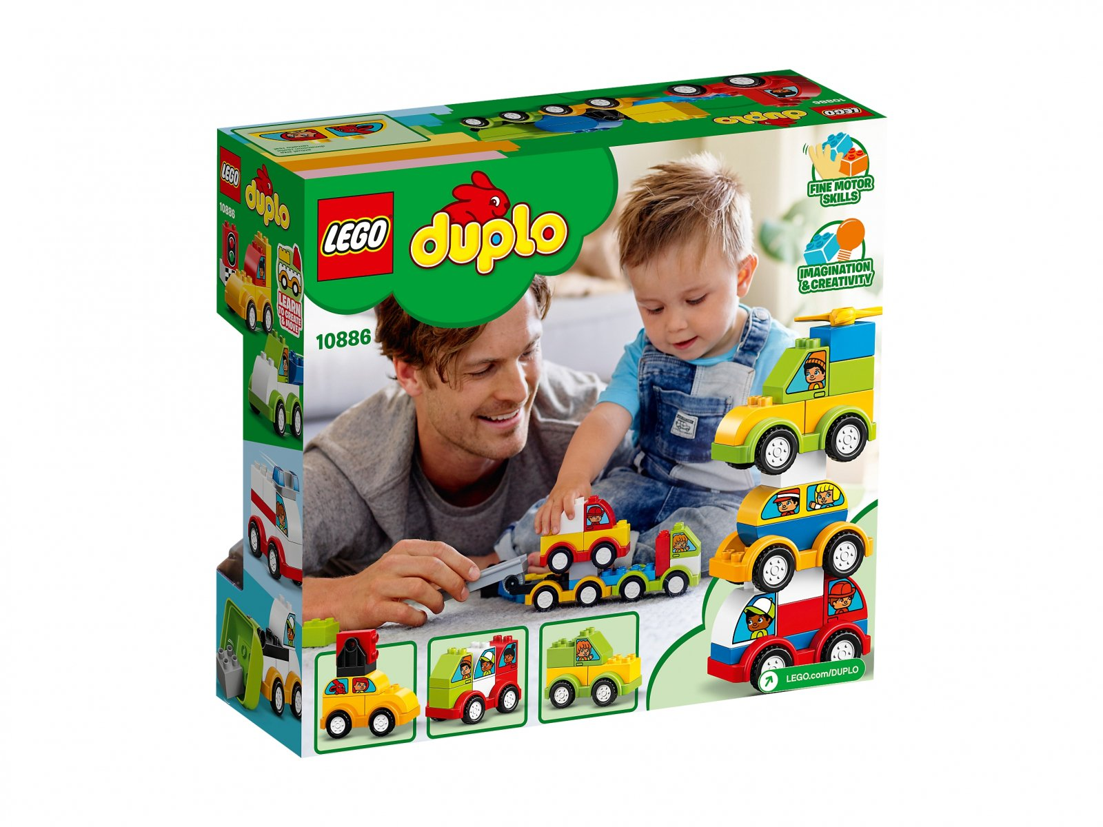 LEGO Duplo® 10886 Moje pierwsze samochodziki