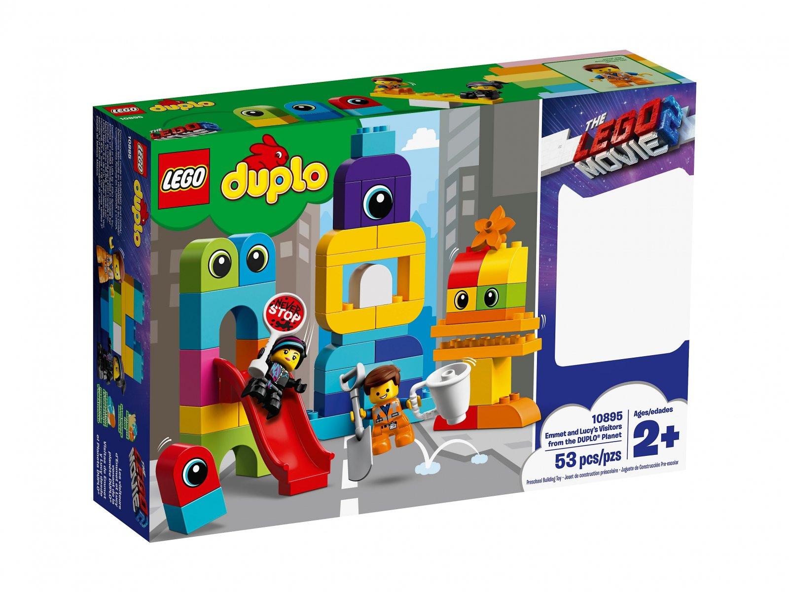 LEGO Duplo® Goście z planety DUPLO® u Emmeta i Lucy