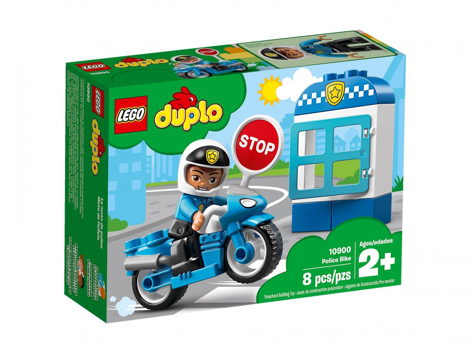 LEGO 10900 Duplo® Motocykl policyjny