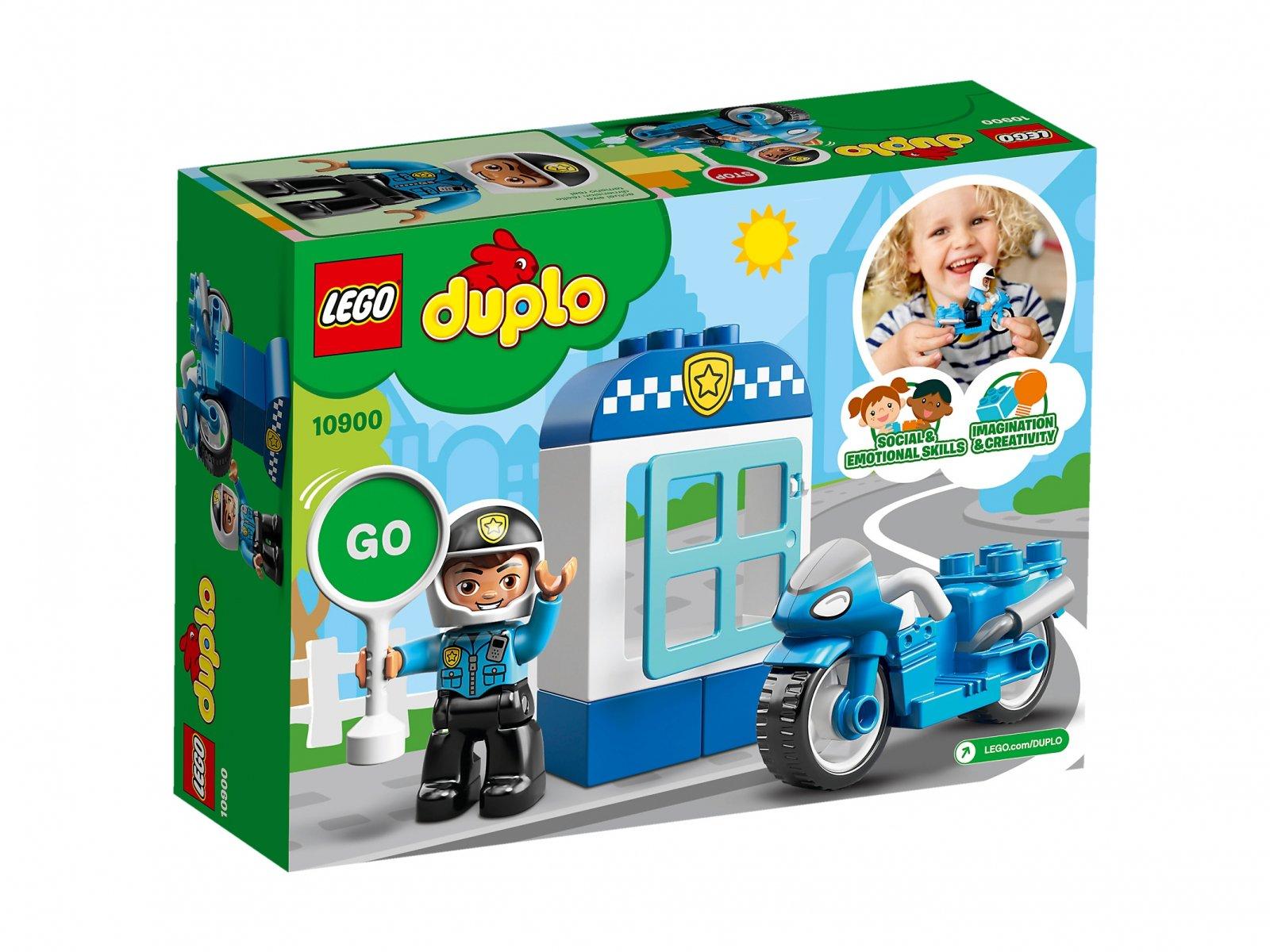 LEGO Duplo® Motocykl policyjny