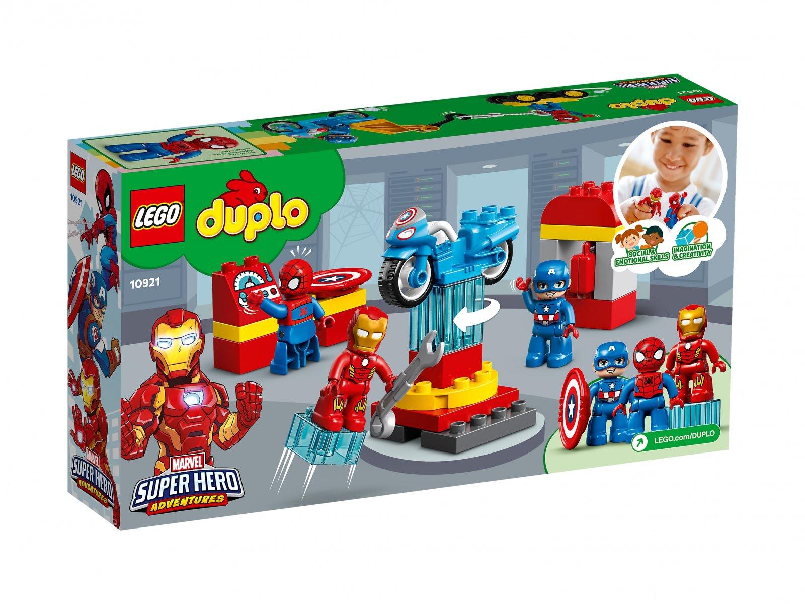 LEGO 10921 Duplo® Laboratorium superbohaterów
