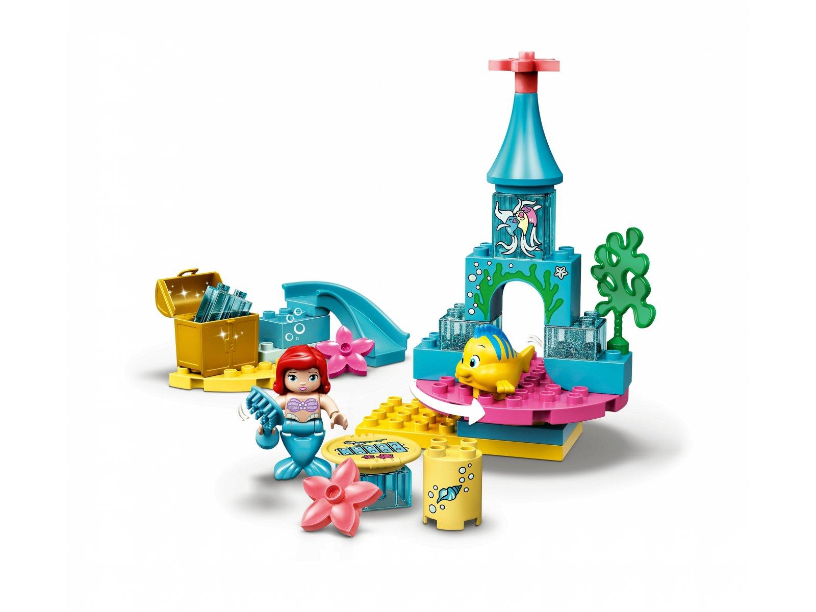 LEGO Duplo® 10922 Podwodny zamek Arielki