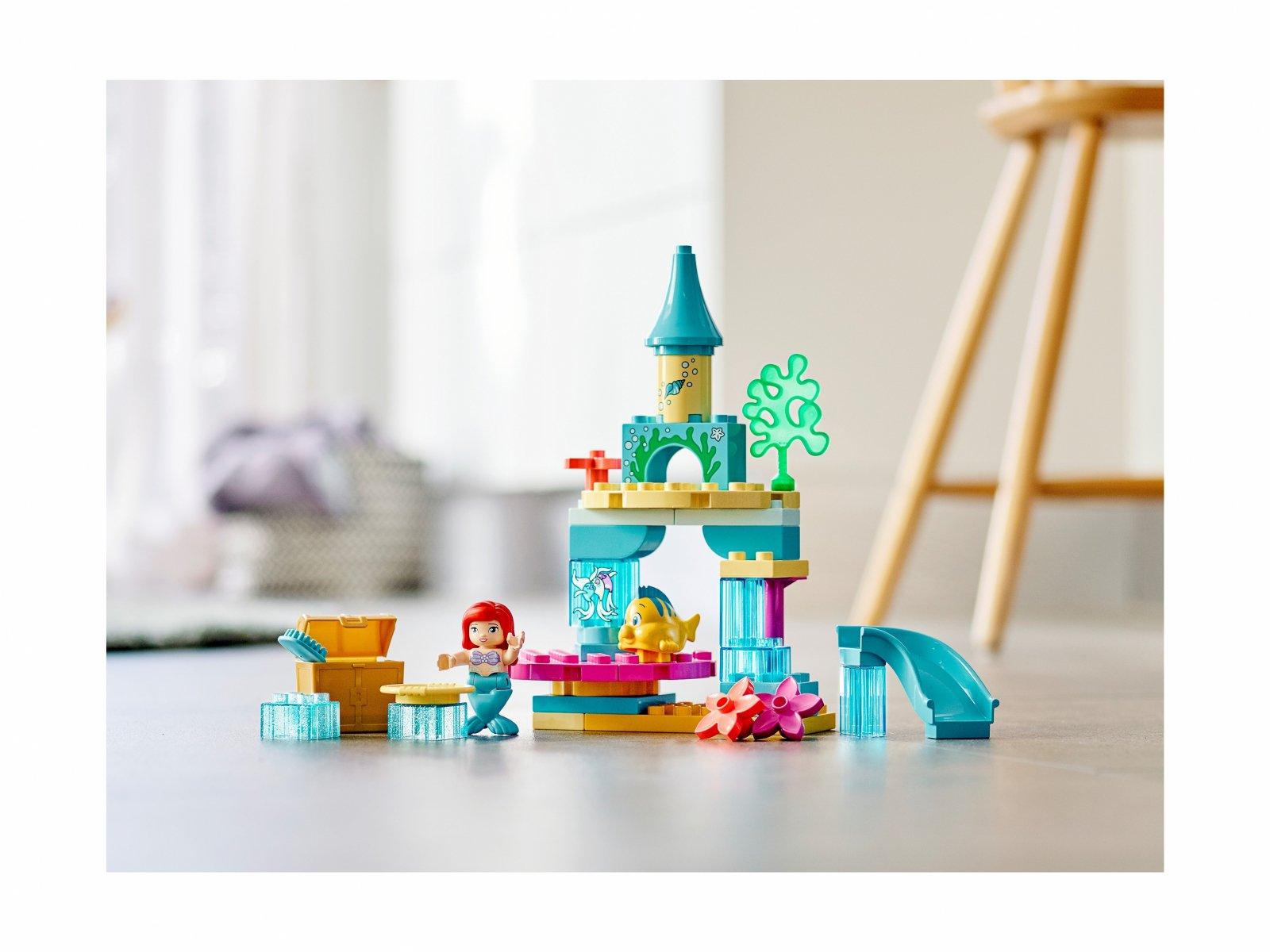 LEGO 10922 Duplo® Podwodny zamek Arielki