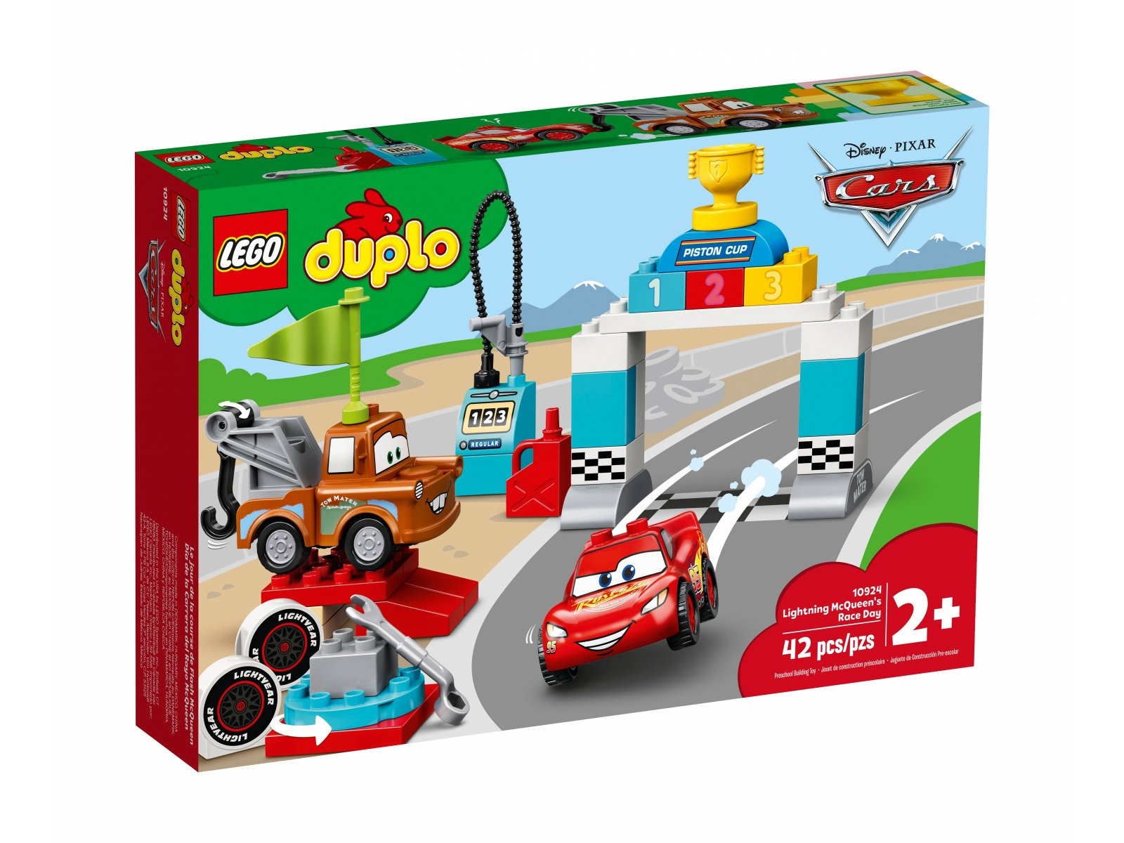 LEGO 10924 Zygzak McQueen na wyścigach
