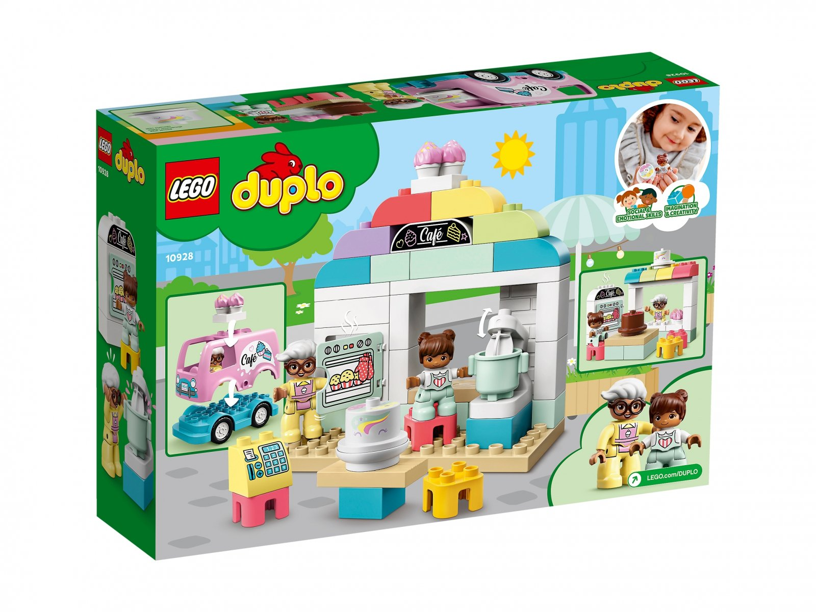 LEGO 10928 Duplo® Piekarnia