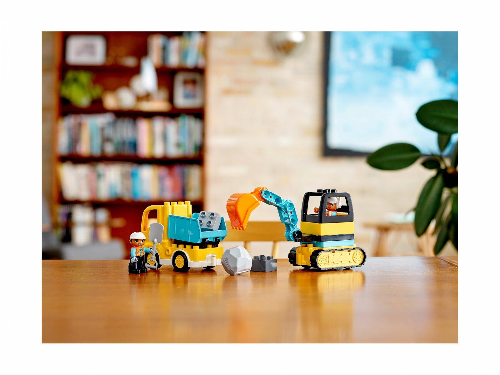 LEGO 10931 Duplo® Ciężarówka i koparka gąsienicowa
