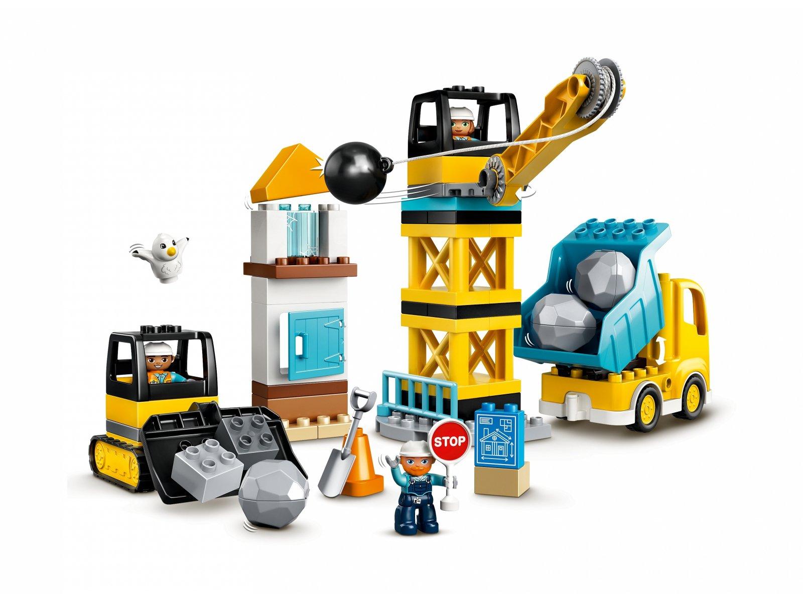 LEGO Duplo® Rozbiórka kulą wyburzeniową 10932