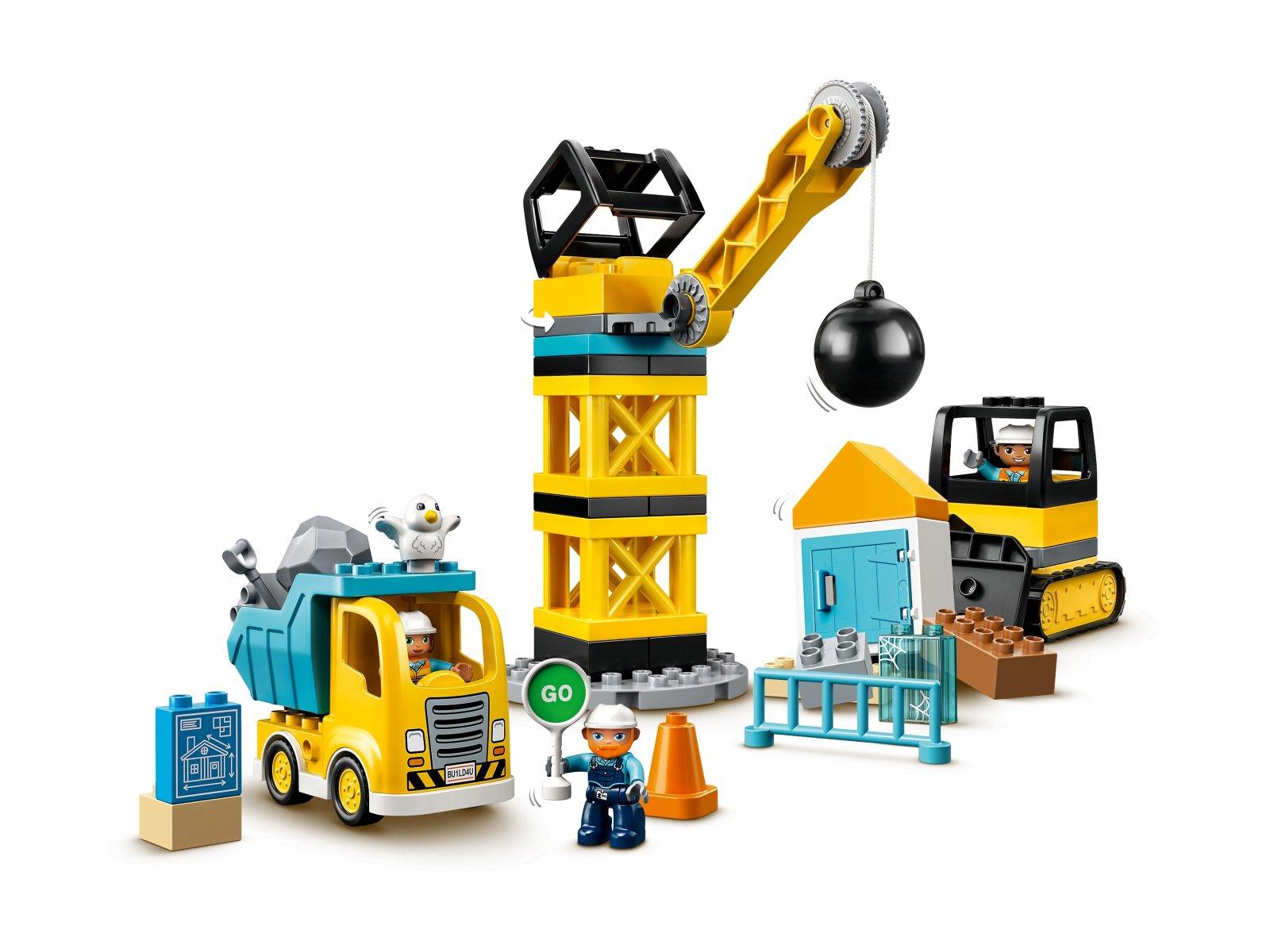 LEGO Duplo® 10932 Rozbiórka kulą wyburzeniową