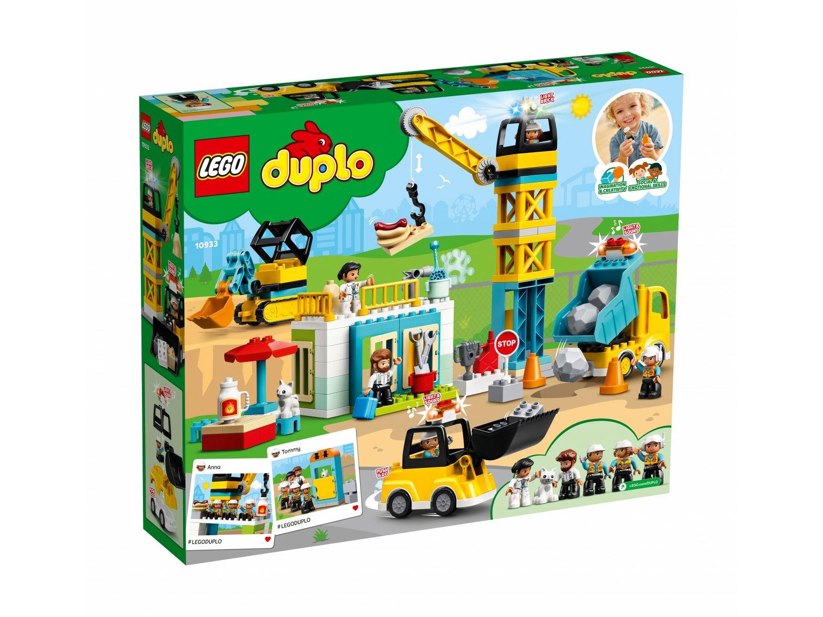 LEGO Duplo 10933 Żuraw wieżowy i budowa