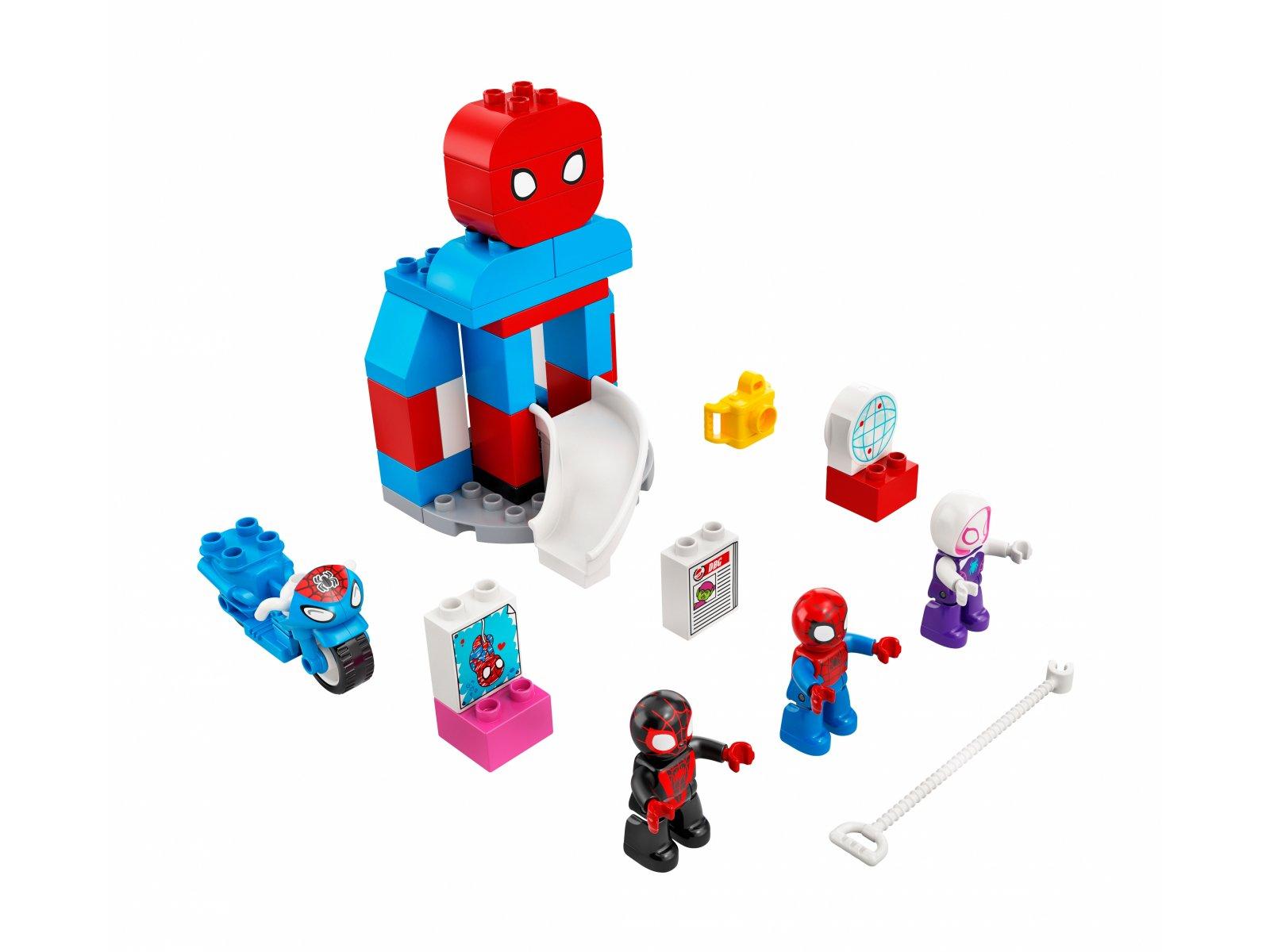 LEGO 10940 Duplo Kwatera główna Spider-Mana