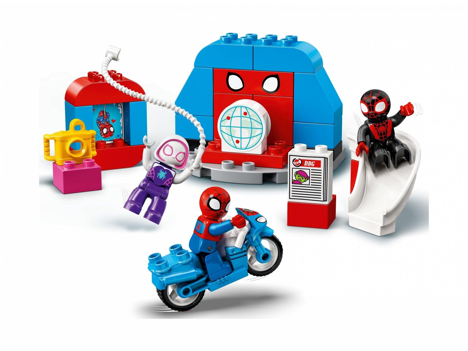 LEGO Duplo 10940 Kwatera główna Spider-Mana
