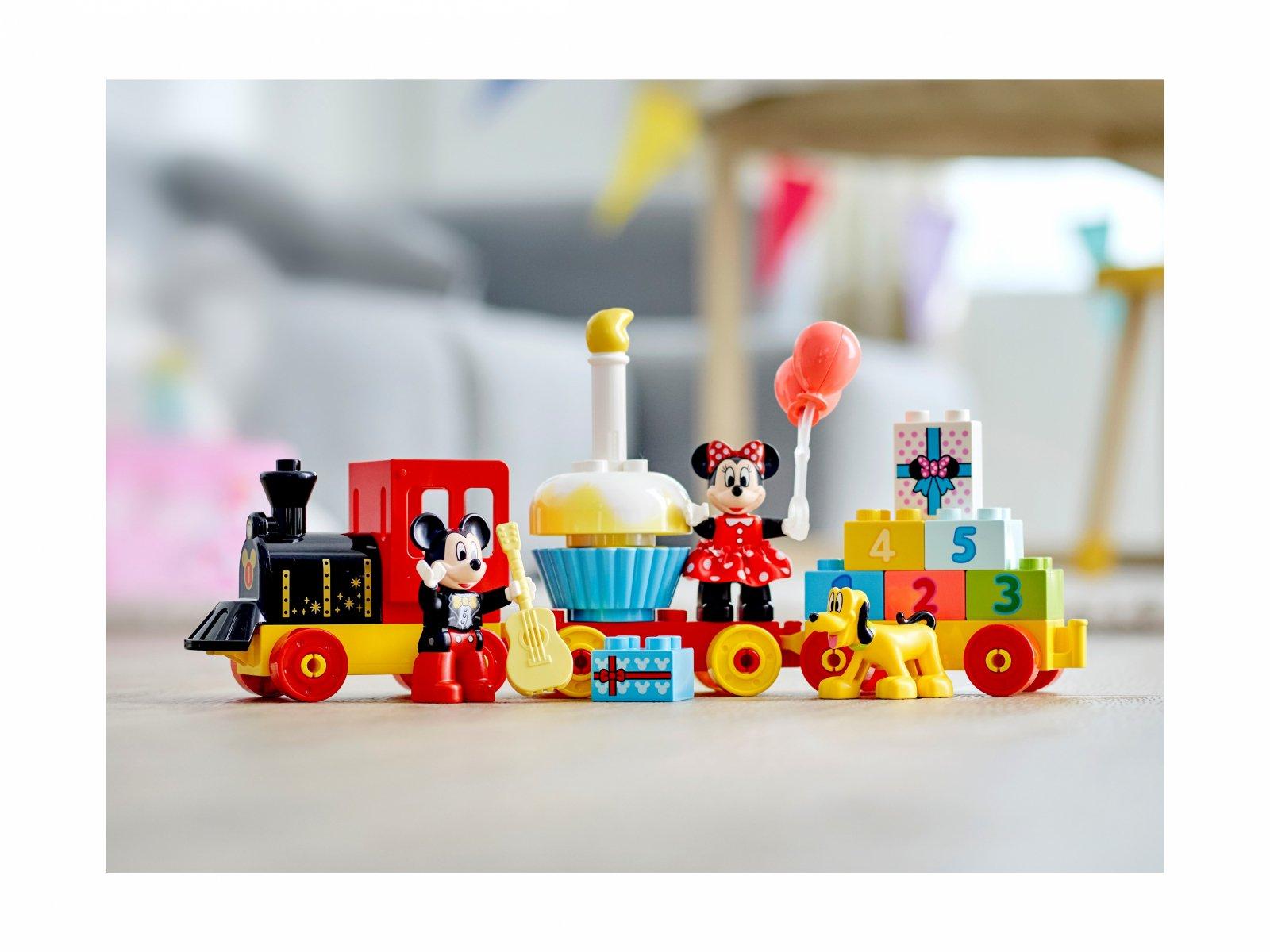 LEGO Duplo® Urodzinowy pociąg myszek Miki i Minnie 10941