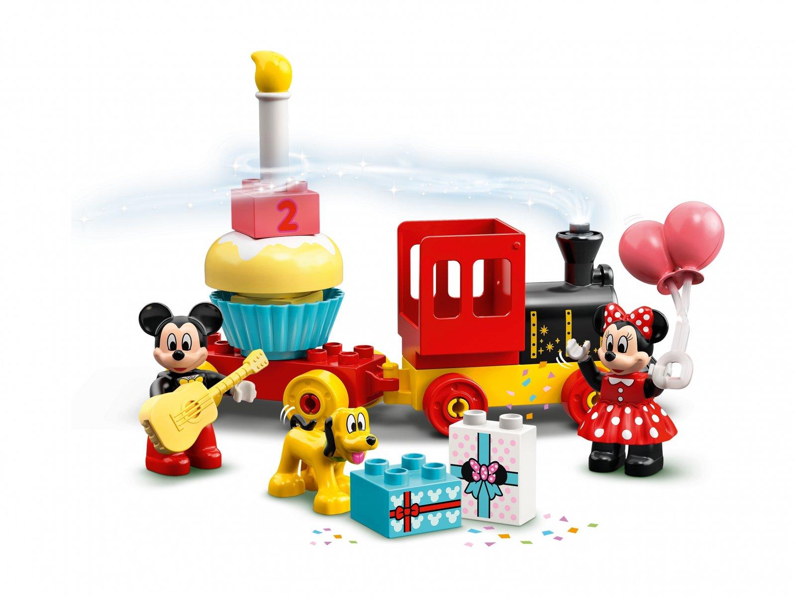 LEGO Duplo® 10941 Urodzinowy pociąg myszek Miki i Minnie