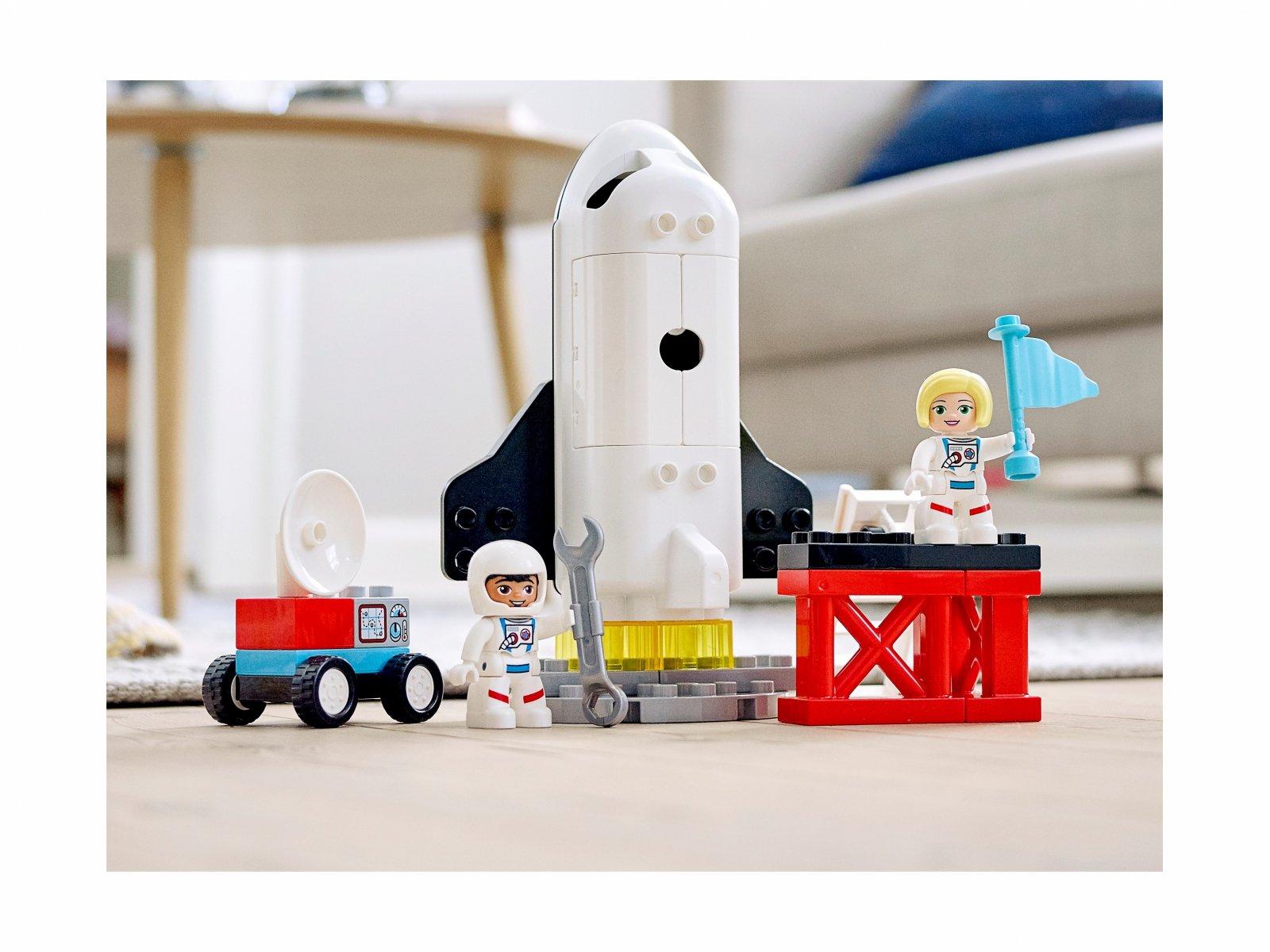 LEGO Duplo 10944 Lot promem kosmicznym