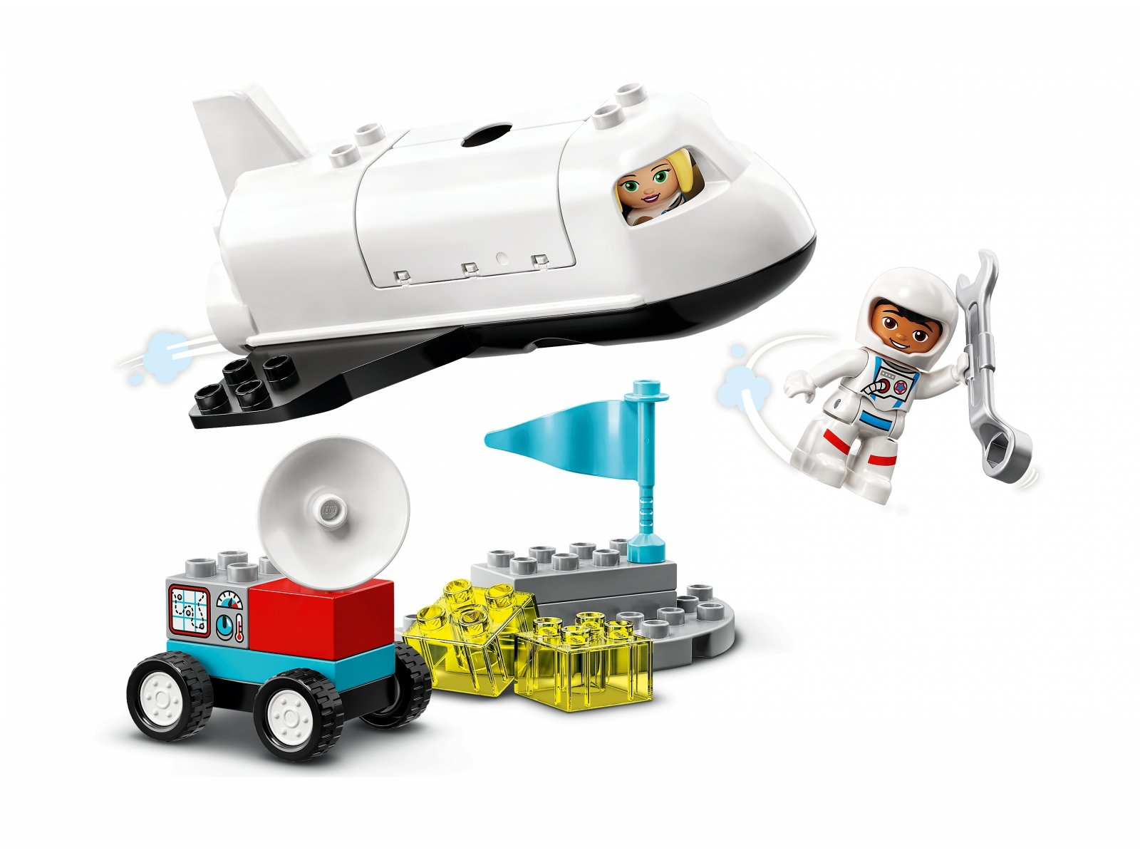 LEGO Duplo Lot promem kosmicznym 10944