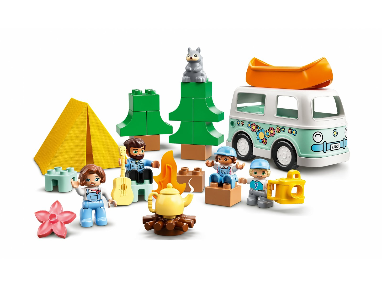 LEGO 10946 Duplo Rodzinne biwakowanie