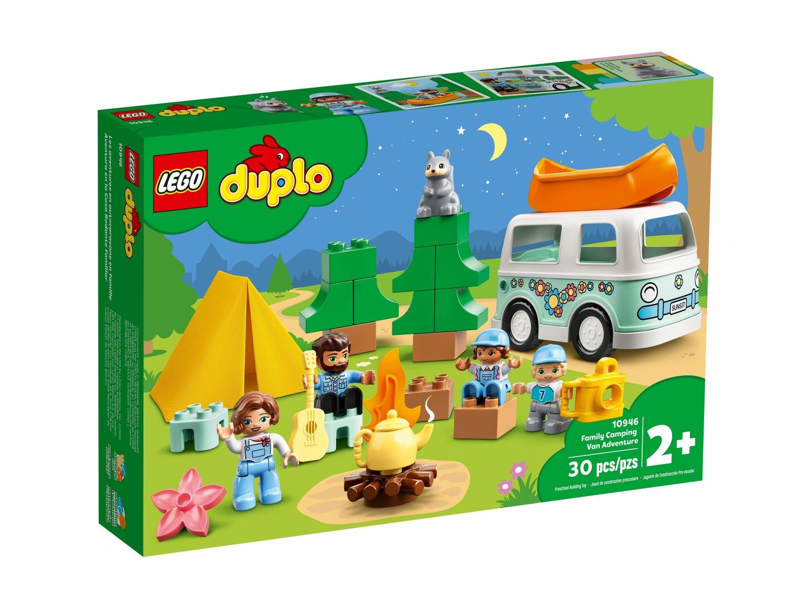 LEGO Duplo Rodzinne biwakowanie 10946