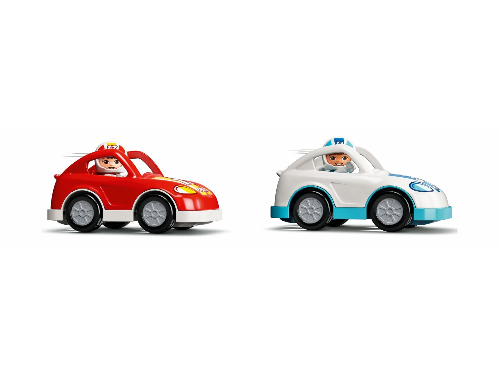 LEGO Duplo Samochody wyścigowe 10947